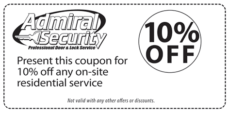 Coupon: 10% Off any on-site residential service