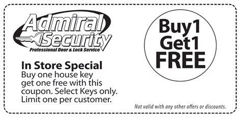 Coupon: In-Store Special: Buy One Get One Free House Key
